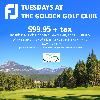Foot-Joy Tuesdays at the Golden Golf Club